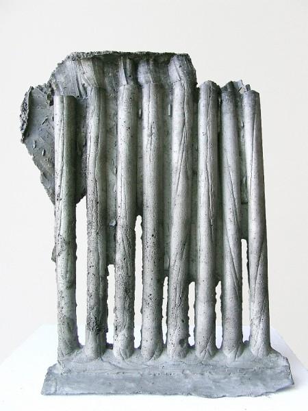 Betonguss Unikat Bildhauer Kunstpreis Hofgartensaal, Minimalismus Betonkunst, Betonbildhauer