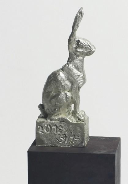 Ratte, Bronzeguss,Hofgartensaal, Kempten, Tierplastik, Tierfigur, Kunst, Bildhauer, Tierskulptur